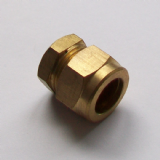 Brass Compression 12mm Microbore Stop End Cap - 24371001